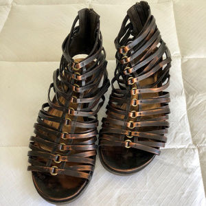 Kenneth Cole Reaction Cage Gladiator Sandals